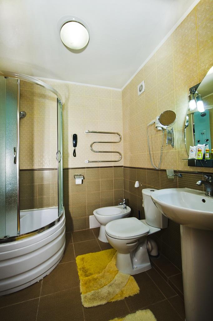 Ванная комната в люкс-студио