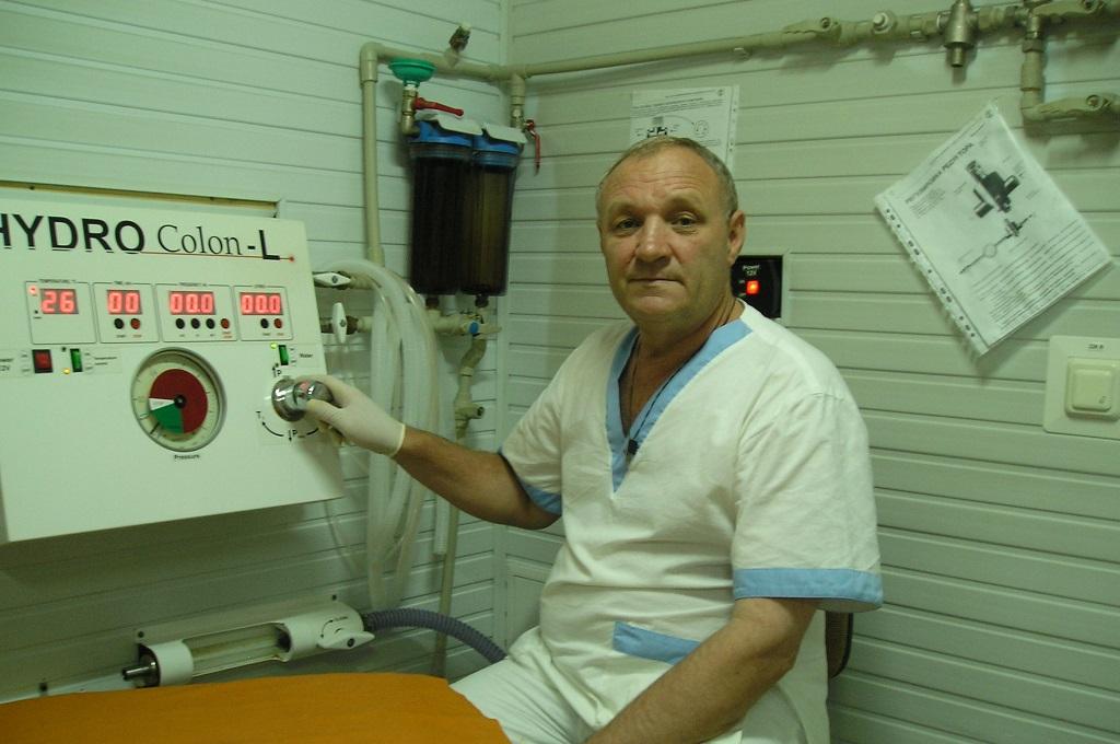 Врач эндоскопист в санатории г Саки