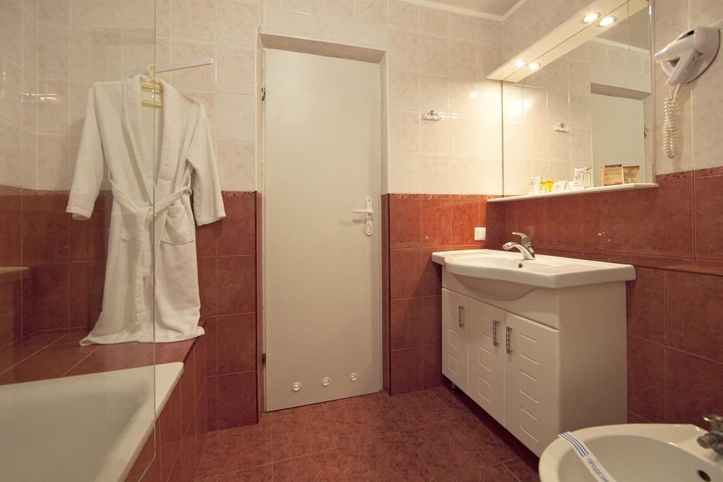 Комфортабельный номер ванная